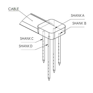 utah array, n form array diagram