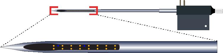 Stereotrode 16 Channel Optic Fiber Electrode