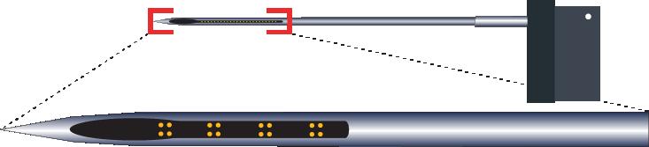 Tetrode 16 Channel RAC Electrode