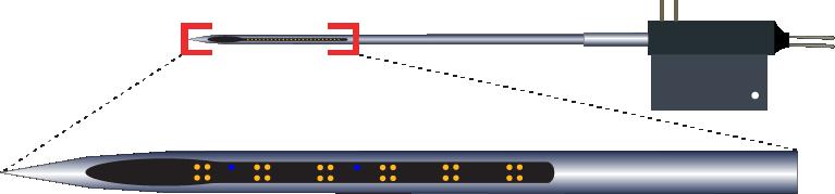 Tetrode 24 Channel Fluid Channel Electrode