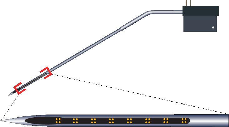 Tetrode 32 Channel Kinked Electrode