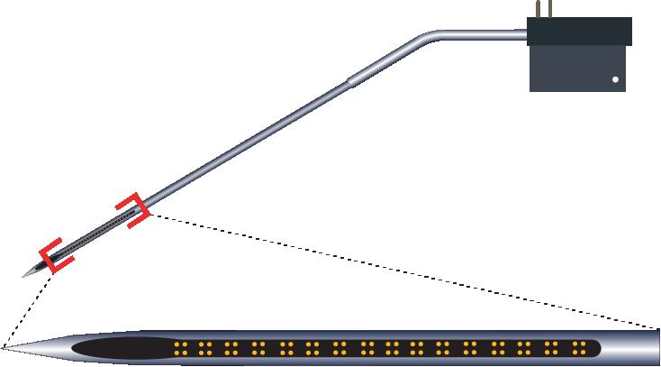 Tetrode 64 Channel Kinked Electrode
