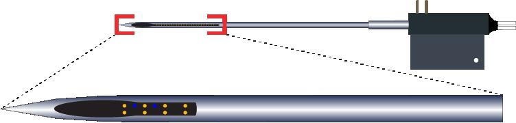 Stereotrode 8 Channel Optic Fiber Electrode