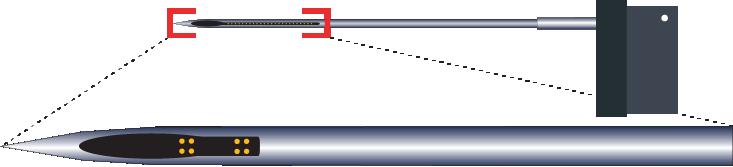 Tetrode 8 Channel RAC Electrode