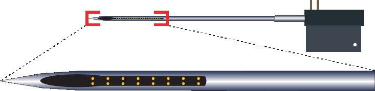 Stereotrode 16 Channel Electrode