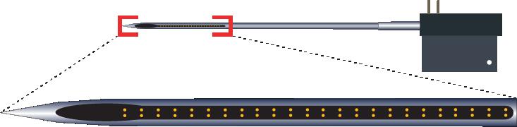 Stereotrode 64 Channel Electrode